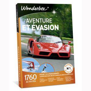 Wonderbox Aventure et Evasion - Coffret cadeau 1760 activités