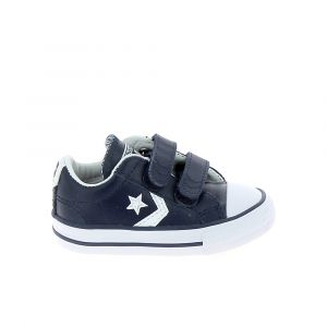 Converse Chaussure bebe star player 2v bb marine blanc 21