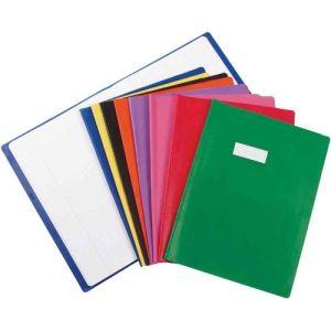 Elba Protège-cahier styl Sms avec étiquette (A4)