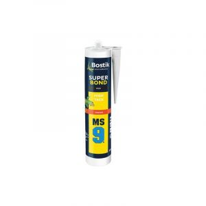 Bostik Mastic MS9 super bond cartouche 290ml noir - Categorie fantome PRO
