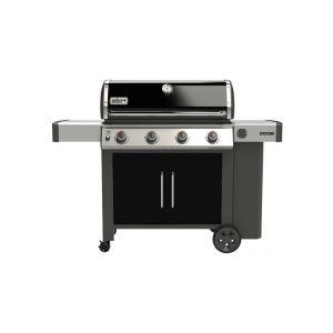 Weber Barbecue à gaz Genesis II E-415 coloris noir 154 x 73 x 114 cm
