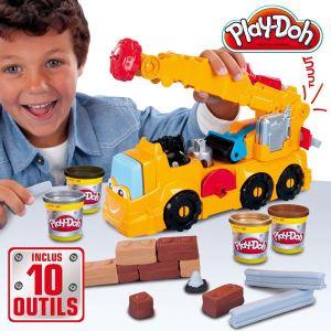 Hasbro Play-Doh - Super camion grue électronique