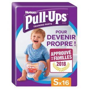 Huggies Pull-Ups taille 4 (8-15 kg) - 16 couches culottes - Garçon