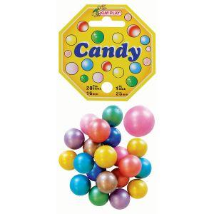 Kim'play 20 billes + 1 calot Candy