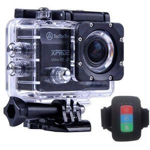 TecTecTec! XPRO2 Caméra Sport 4K avec Montre Télécommande