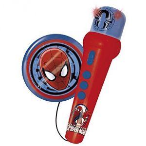Reig Musicales Micro avec ampli et rythmes Spiderman