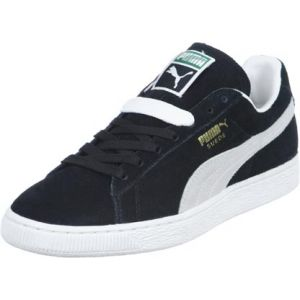 Puma Suede Classic+ - Baskets mode - Mixte Adulte - Noir (black-white) - 36 EU