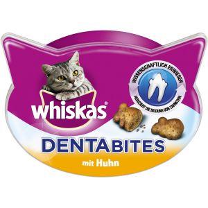 Whiskas 6x48g poulet Dentabites Friandises - Friandises pour Chat