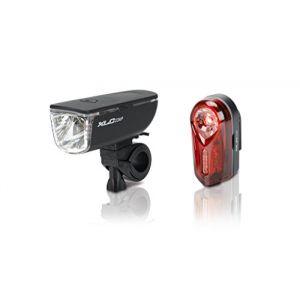 XLC Comp Ariel/Neso CL-S11 - Kit éclairage vélo - rouge/noir Sets de lampes