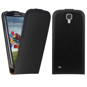 Kwmobile 14678 - Housse à rabat en cuir pour Samsung Galaxy S4 Mini i9190 / i9195