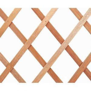 Intermas Gardening Treillis extérieur Treilliwood, en bois naturel, 50 x 150 cm