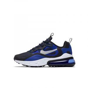 Nike Chaussure Air Max 270 React pour Enfant plus âgé - Bleu - Taille 36