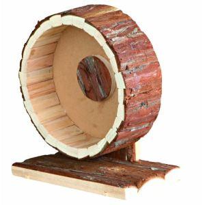 Trixie Roue en bois naturel Natural Living pour rongeur (20 cm)