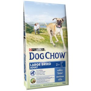 Dog chow Adult Large Breed Dinde et Riz - Sac 14 kg