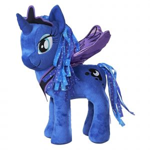 Hasbro My Little Pony Peluche ailée à fonction Princesse Luna