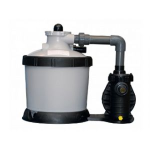 Proswell Coffre bois et filtration à sable piscine Urbaine