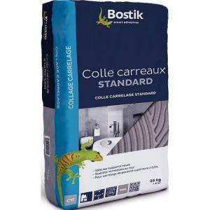 Bostik Colle carrelage - poudre - gris - 25 Kg - Colle carrelage