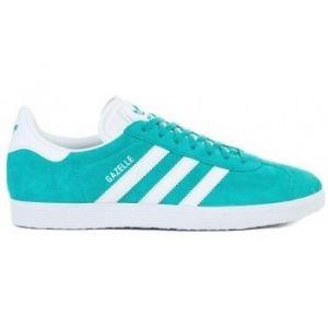Adidas Gazelle, Sneakers Basses Homme, Bleu (Hi-Reset Aqua/Footwear White/Footwear White 0), 47 1/3 EU
