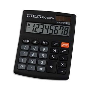 Citizen SDC-805BN - Calculatrice de table petit format