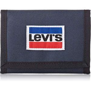 Levi's Portefeuille Sportswear Patch Trifold bleu - Taille Unique