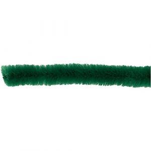 Creotime Lot de 50 cure-pipes épaisseur 6 mm L 30 cm Vert foncé