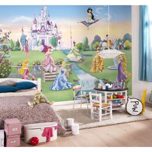papier peint princesse disney comparer 172 offres. Black Bedroom Furniture Sets. Home Design Ideas
