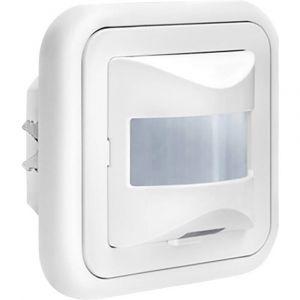Gev Détecteur de mouvements 016934 pour l'intérieur encastrable 160 ° relais blanc IP20