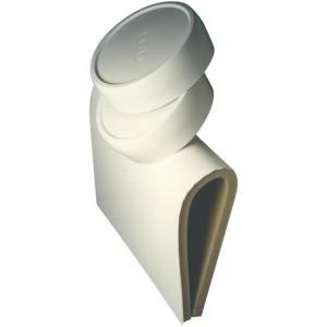 Massal 57044 - Jaquette mousse souple 50mm blanche pour réservoir STD Solaire et Tampon de 200 litres