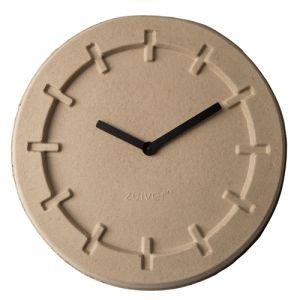 Zuiver Pulp Time - Horloge ronde en papier mâché 46 cm