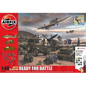 Airfix A50172 - Bataille d'Angleterre Ready for Battle - 1:48