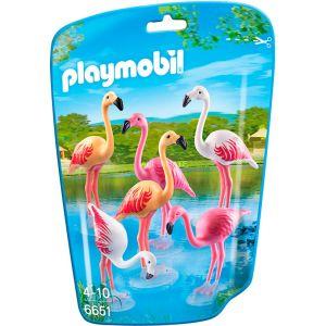 Playmobil 6651 - Groupe de flamants roses
