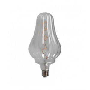 Ampoule LED rétro Edison Paul (H.25cm) filament spiral 4W (E27)