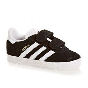 Adidas Gazelle CF I, Chaussures de Fitness Mixte Enfant, Noir (Negbas/Ftwbla/Ftwbla 000), 23.5 EU