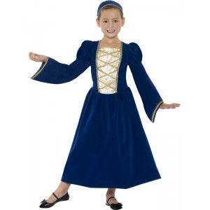 Déguisement de princesse Tudor enfant 10-12 ans