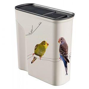 Curver Conteneur à graines pour oiseaux 6 L