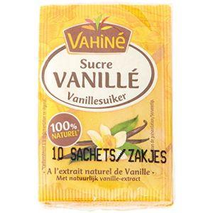 Vahiné Sucre vanillé à l'extrait naturel de vanille - Les 10 sachets de 7,5g