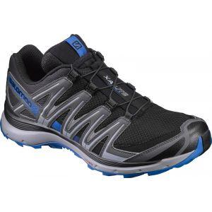 Salomon Homme XA Lite Chaussures de Trail Running, Noir (Black/Quiet Shade/Imperial Blue), Taille: 45 1/3