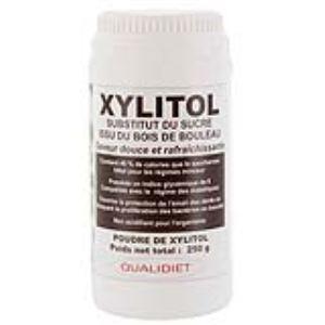 Qualidiet Xylitol - Substitut du sucre issu du bois de bouleau (250g)