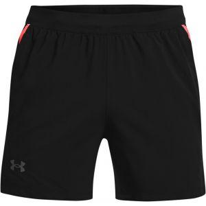 Under Armour Launch SW 5'' Shorts Men, black-venom red XL Pantalons course à pied