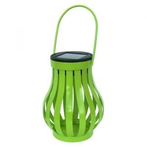Galix Lampe de table solaire verte
