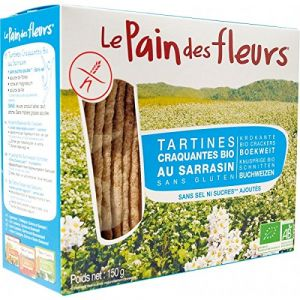Le pain des fleurs Tartine sarrasin sans sel ni sucres 150 g