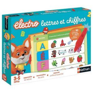 Nathan Electro Lettres et Chiffres - jeu électronique