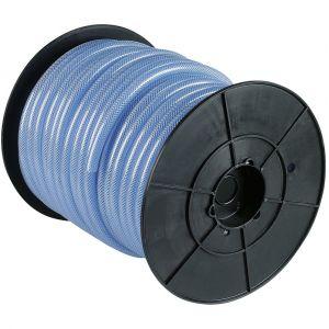 Cap Vert Bobine dévidoir cristal tressé armé - Longueur 80 m - Diamètre Intérieur : 6 mm - Extérieur : 12 mm