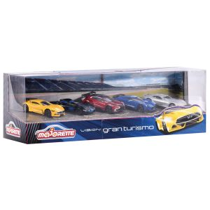 Majorette Coffret 5 voitures Gran Turismo
