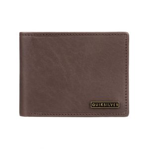 Quiksilver Portefeuilles New Classical Plus Iii - Chocolate Brown - M