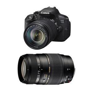 Canon EOS 700D (avec 2 objectifs 18-135mm et Tamron 70-300mm)
