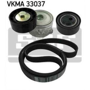 SKF Kit de courroies d'accessoires VKMA33037