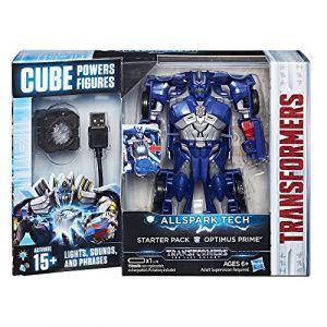 Hasbro Coffret Allspark Tech - Optimus Prime Transformers 5