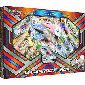 Asmodée Pokémon GX Lycanroc Box (version anglaise)