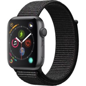 Apple Watch Series 4 - 44mm - Alu Gris Sidéral / Boucle Sport Noir